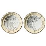Suomi 2010 5 € Varsinais-Suomi maakuntaraha UNC