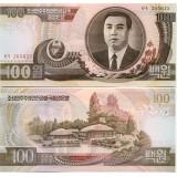 Pohjois-Korea 1992 100 Won P43a UNC