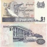 Singapore 1976 1 Dollar UNC