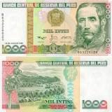 Peru 1988 1 000 Intis P136b UNC