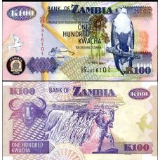 Sambia 2006 100 Kwacha UNC