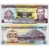 Honduras 2003 2 Lempiras P80Aa UNC