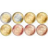 Viro 2011 1 c – 2 € Irtokolikot UNC