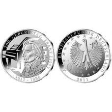 Saksa 2011 10 € Franz Liszt HOPEA BU