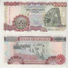 Ghana 2002 2 000 Cedis P33g UNC