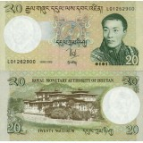 Bhutan 2006 20 Ngultrum UNC