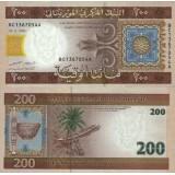 Mauritania 2006 200 Ouguiya P11a UNC