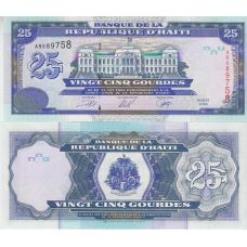 Haiti 2000 25 Gourdes UNC