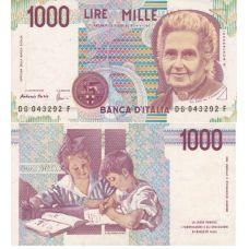 Italia 1990 1 000 Lire P114c UNC