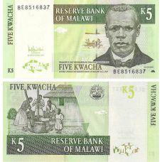 Malawi 2005 5 Kwacha P36c UNC