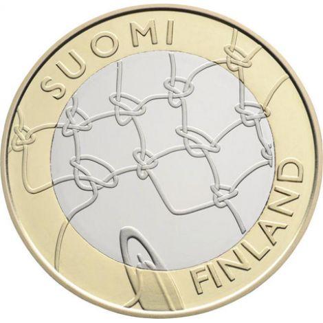 Suomi 2011 5 € Häme maakuntaraha UNC