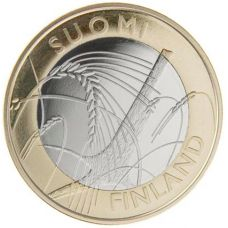 Suomi 2011 5 € Savo maakuntaraha UNC
