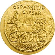 Palau 2009 1 Dollar Antiikin Rooma, Germanicus KULTA