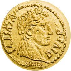 Palau 2009 1 Dollar Antiikin Rooma, Augustus KULTA