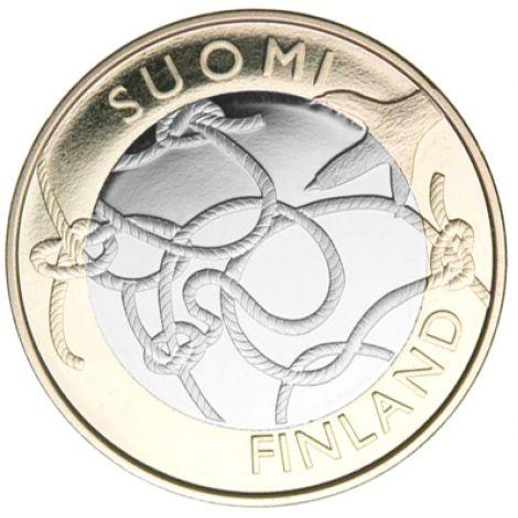 Suomi 2011 5 € Ahvenanmaa maakuntaraha UNC