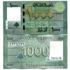 Libanon 2011 1000 Livres P90a UNC