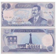 Irak 1994 100 Dinars P84a1 UNC