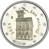 San Marino 2009 1 C- 2 € PROOF