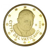 Vatikaani 2008 50 c PROOF