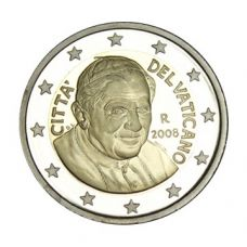 Vatikaani 2008 2 € PROOF