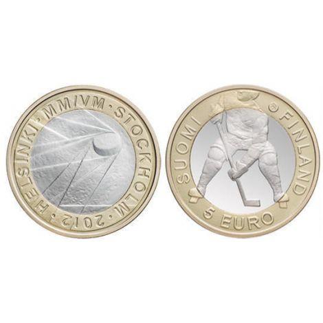 Suomi 2012 5 € Jääkiekko UNC