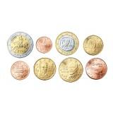 Kreikka 2009 1 c – 2 € Irtokolikot UNC