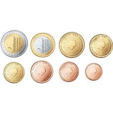 Alankomaat 2012 1 c - 2 € Irtokolikot UNC