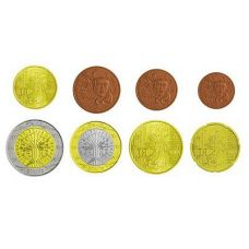 Ranska 1 c – 2 € Sekavuosi Irtokolikot UNC