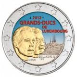 Luxemburg 2012 2 € Guillaume IV VÄRITETTY