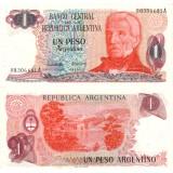 Argentiina 1983 1 Peso P311 UNC