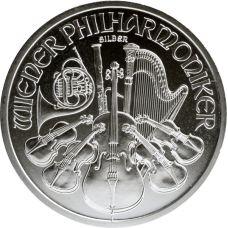 Itävalta 2013 1,5 € Wienin filharmonikot 1 Unssi HOPEA