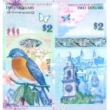 Bermuda 2009 2 Dollars P57a2 UNC
