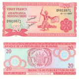 Burundi 2007 20 Francs P27d UNC
