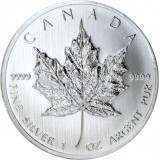 Kanada 2013 5 Dollars Maple Leaf 1 Unssi HOPEA