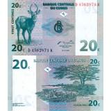 Kongo 1997 20 Centimes P83 UNC