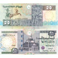 Egypti 2001 20 Pounds UNC