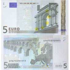 Euroopan Unioni 2002 5 € Ranska L028 / U UNC