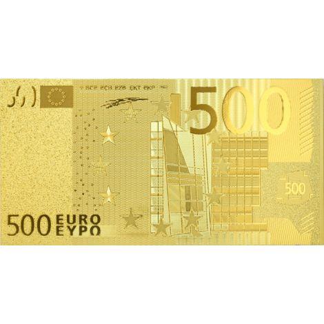 Euroopan Unioni 500 € KULLATTU