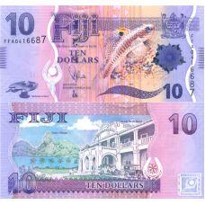 Fiji 2012 10 Dollars UNC