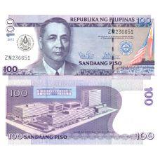 Filippiinit 2012 100 Piso UNC