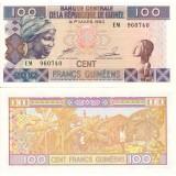 Guinea 2012 100 Francs UNC
