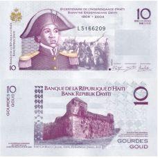 Haiti 2012 10 Gourdes P272e UNC