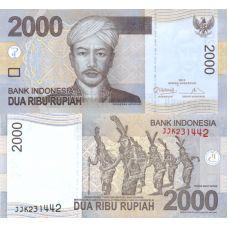 Indonesia 2013 2 000 Rupiah P148 UNC