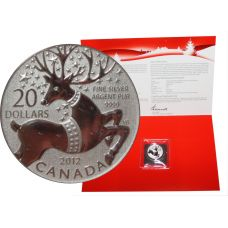 Kanada 2012 20 Dollars Magical Reindeer 9999 HOPEA BU