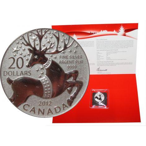 Kanada 2012 20 Dollars Magical Reindeer 9999 HOPEA BU