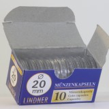 Säilytyskapseli, Lindner 20,0 mm 10 c (10 kpl)