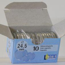 Säilytyskapseli, Lindner 24,5 mm 50 c (10 kpl)