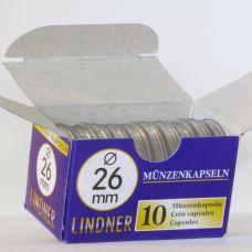 Säilytyskapseli, Lindner 26,0 mm 2 € (10 kpl)