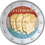 Luxemburg 2011 2 € Henri & Jean VÄRITETTY