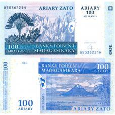 Madagaskar 2004 100 Ariary P86 UNC